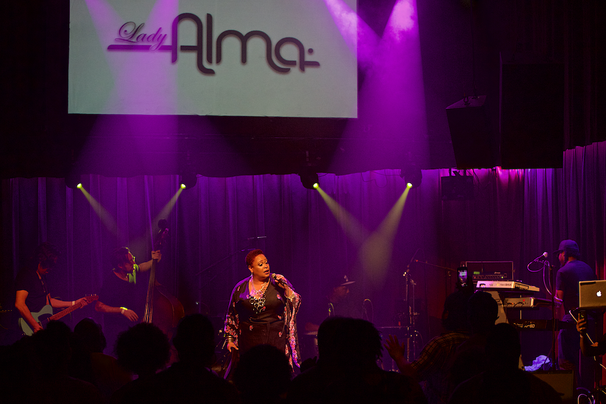 Lady Alma The Ardmore Music Hall Ardmore, Pa August 18, 2018  DerekBrad.com