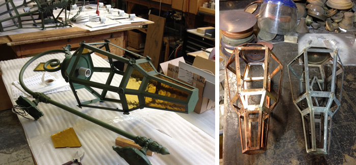 Restoration and replication of exterior and interior heritage lighting fixtures