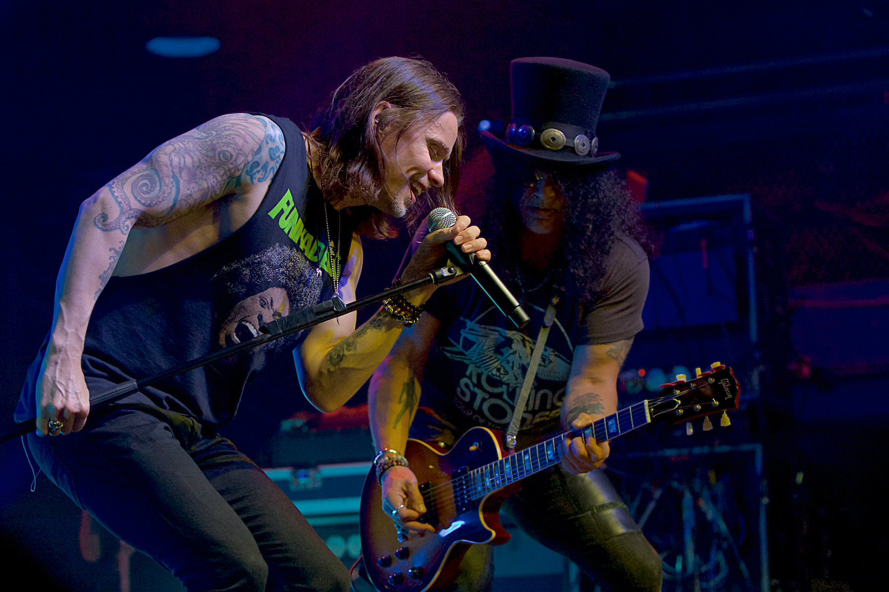 Slash featuring Myles Kennedy and the Conspirators North Seventh  Philadelphia, Pa October 10, 2018  DerekBrad.com