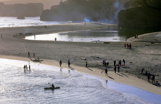 Big River Beach - Mendocino, California