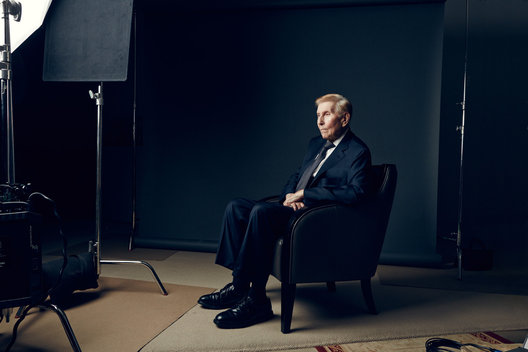 Sumner Redstone for The Hollywood Reporter