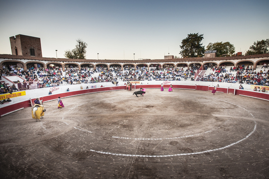 New Year's day bull fight, San Miguel De Allende