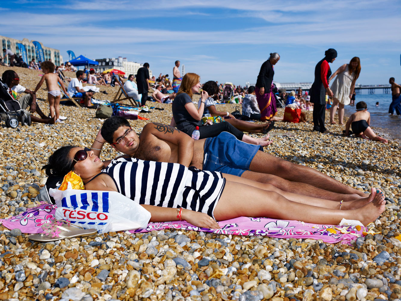 by Jessica van der Weert, part of the 'Seaside' project