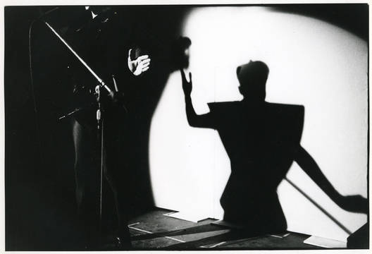 Klaus Nomi performs