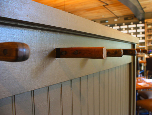 Coat hooks, re-purposed knives