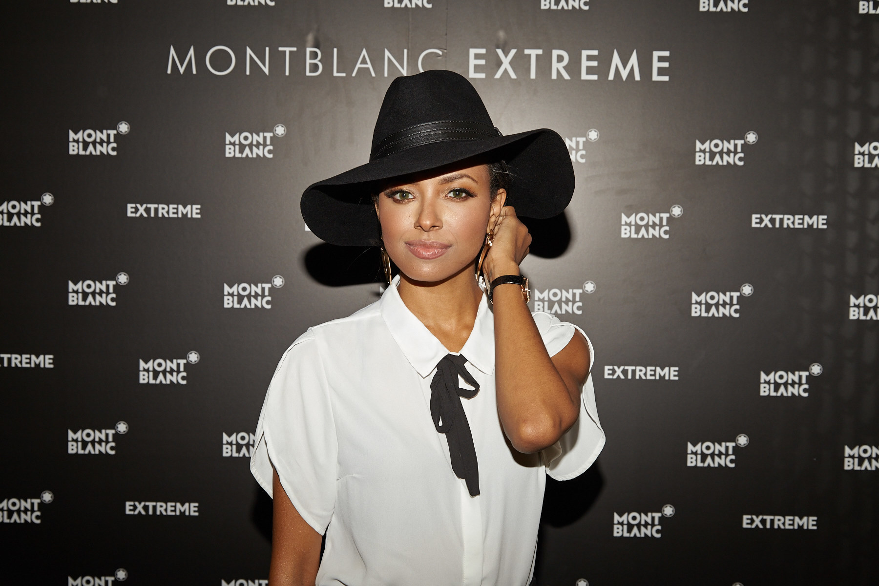 ATLANTA, GA - SEPTEMBER 25:  Kat Graham attends the Montblanc celebration for the grand re-opening of the Atlanta Boutique with Kat Graham, Dave Annable and Kristen Ledlow September 25, 2014 in Atlanta, Georgia.  (Photo by Craig Bromley/Getty Images for Montblanc)